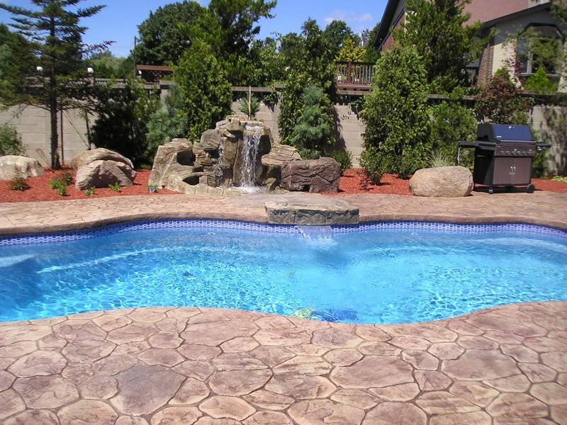 A Plus Pools Cascades From Oregon S Premier Viking Pools