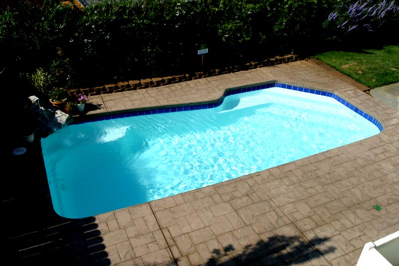 A Plus Pools Custom Pool Tile From Oregon S Premier