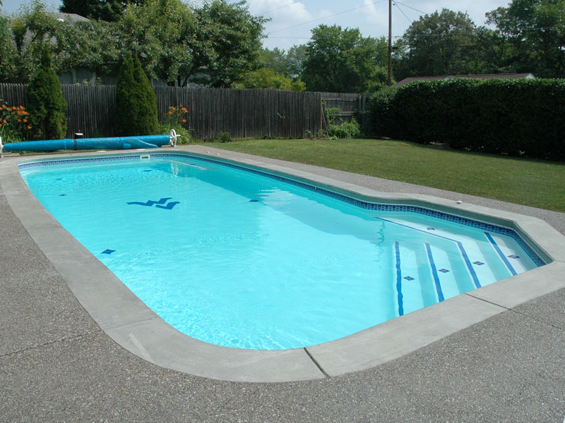 A plus pools custom shaped pools from oregon 39 s premier for Inground pool dealers