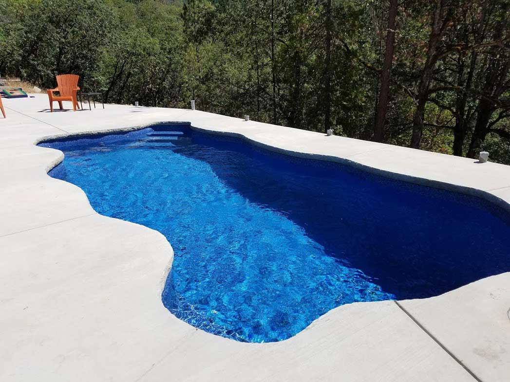 Key West Pacific Blue by A Plus Pools
