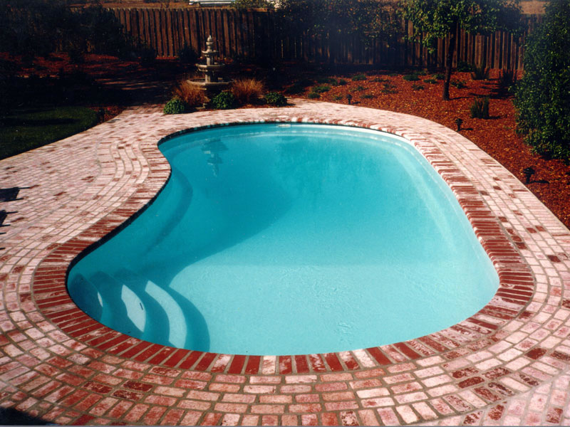 A Plus Pools Kidney Shaped Pools From Oregon S Premier Viking Pools