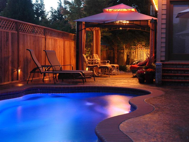 A Plus Pools Pool Lighting From Oregon S Premier Viking