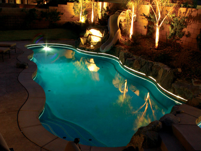 A Plus Pools Pool Lighting From Oregon S Premier Viking