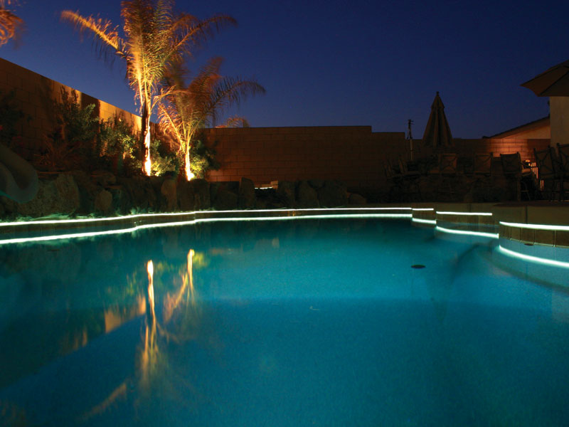 Fiberstars perimeter lighting allows you to add charm and ambiance to any Viking pool or spa. & A Plus Pools | Pool Lighting from Oregonu0027s Premier Viking Pools ... azcodes.com