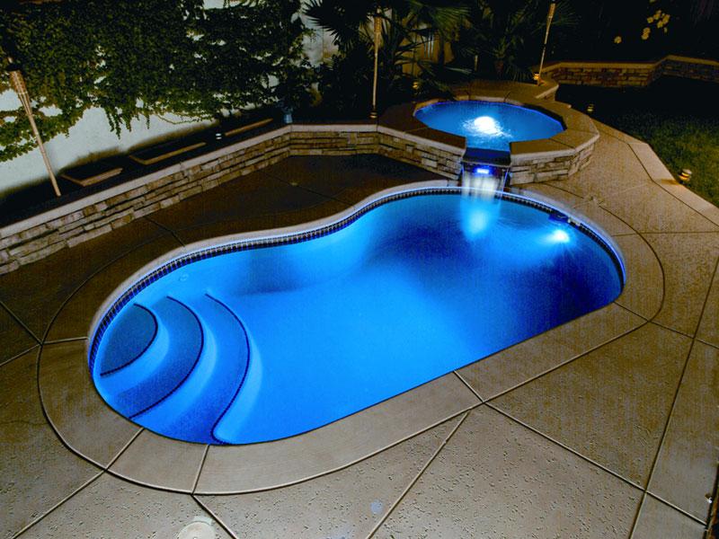... light7 ... & A Plus Pools | Pool Lighting from Oregonu0027s Premier Viking Pools ... azcodes.com