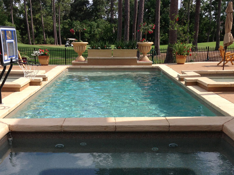 A plus pools rectangle shaped pools from oregon 39 s for Viking pools